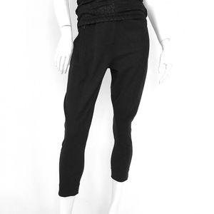 ELIE TAHARI Cotton blend cropped pant black size 6